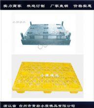 黄岩塑胶模具定制防渗漏叉车PE卡板模具