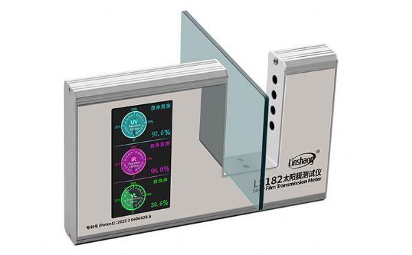 LS182太陽膜測試儀的具體使用