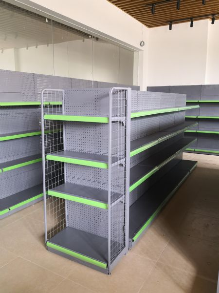 惠州商超貨架生產,各種母嬰店便利店貨架定制銷售
