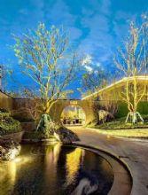 庭院設計茶道會所景觀 天然野山石裝飾造景
