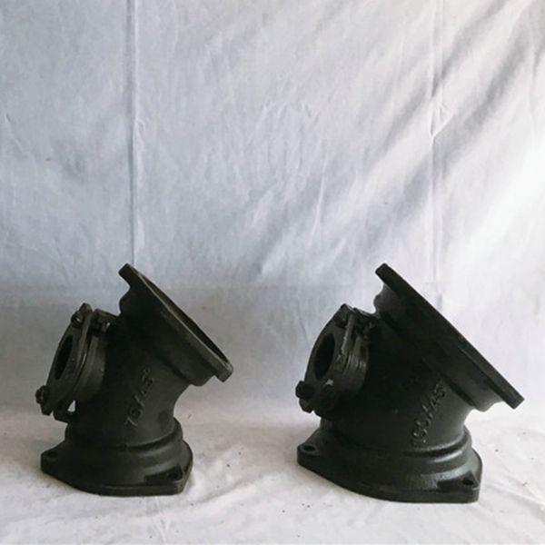 机制铸铁管 柔性B型铸铁管,各种铸铁管件